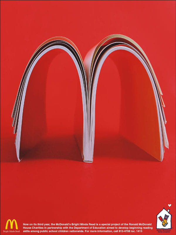McDonalds Bright Mights AdFest Gold Winner