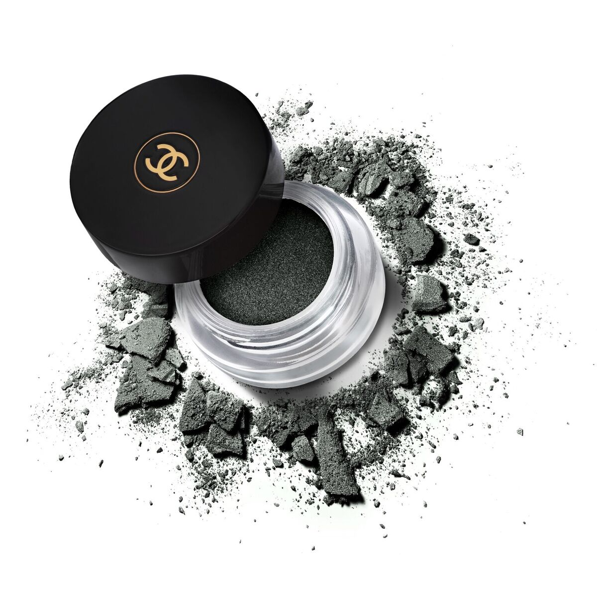 Close-up Chanel Eyeshadow Product Photography