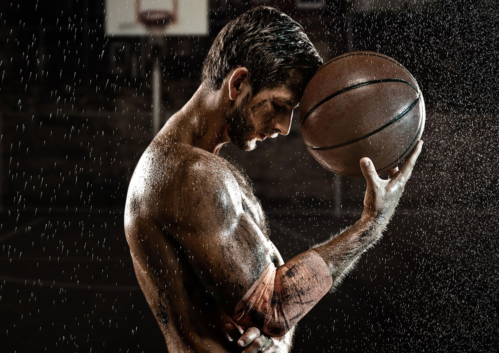 Professional Sports Photography with Basketball