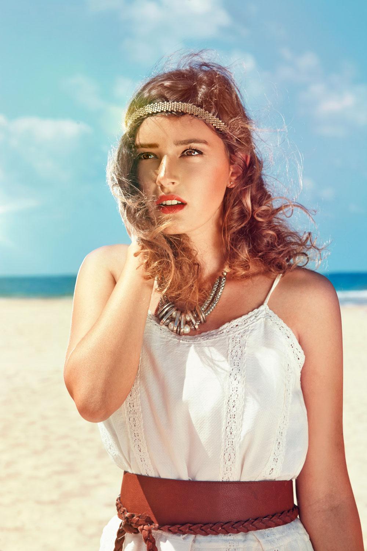Beach Model Shot by Lifestyle Photographer in Manila