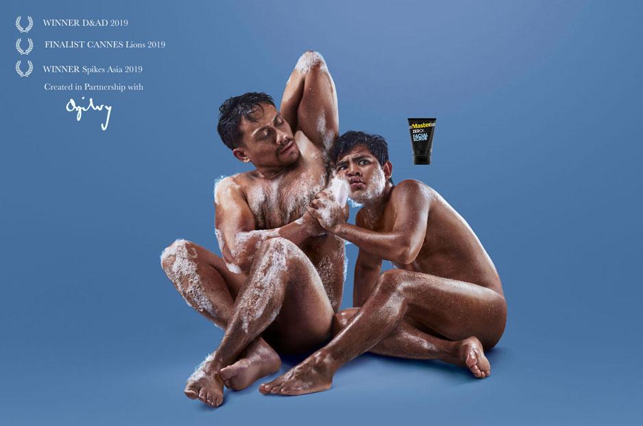 Funny Master Facial Wash Concept