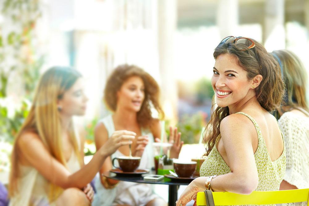 Women Enjoying Tea Time