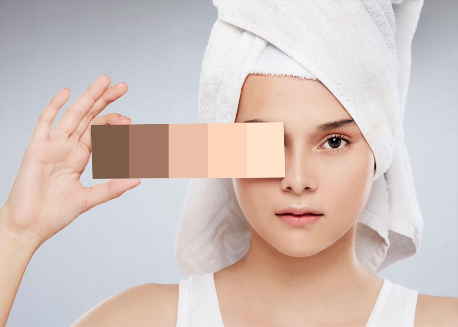 Skin Tone Range Photography