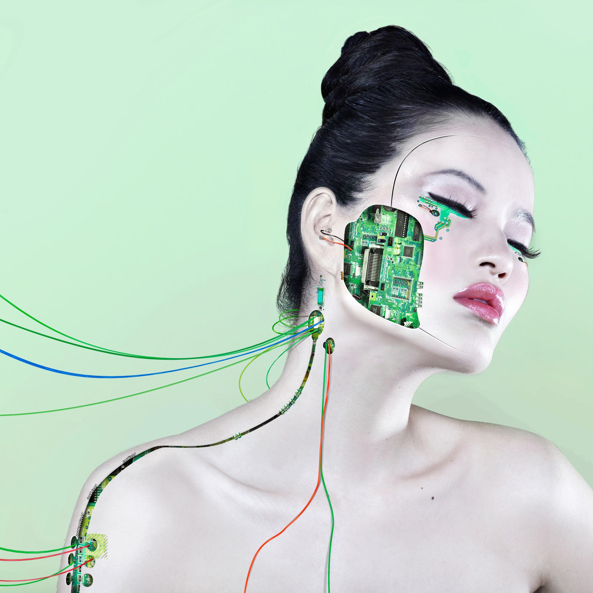 Conceptual Robot Girl